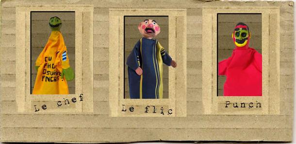 2009Laboratorio per la realizzazione di uno spettacolo con burattiniin direzione della popolazione carceraria della Maison d'Arret di Charleville-Mézières.SPIP Service Penitentiaire Insertion Probation, Association La M.A.R.I.O.N.N.E.T.T.E., DRACMinistero della Cultura-Direzione Regionale Affari Culturali , Ville de Charleville-Mézières, con la collaborazione dell'Institut International de la Marionnette, Charleville-Mézières (Francia)Pubblico : detenuti