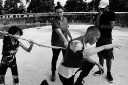 creating action scenes