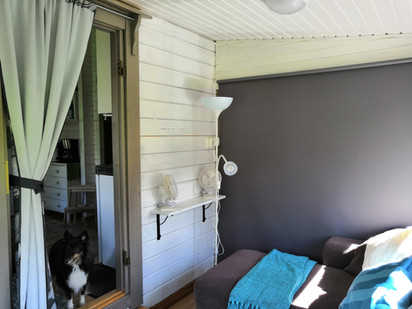 Big bedroom / Viherhuone