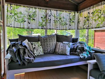 Glazed terrace / Lasitettu terassi