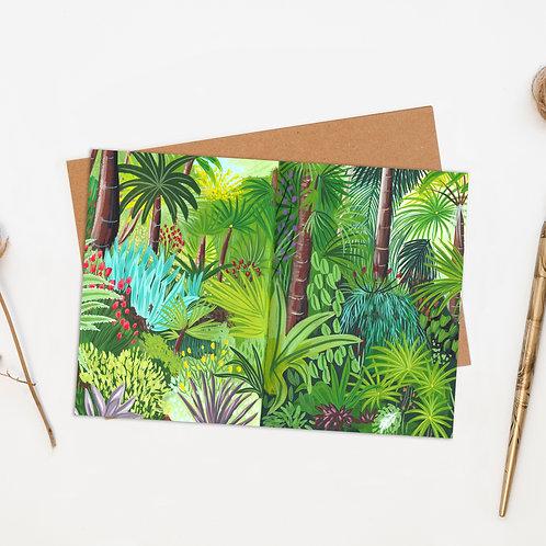 Tropical Jungle Greeting Card
