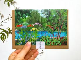 Rainforest Pool Card