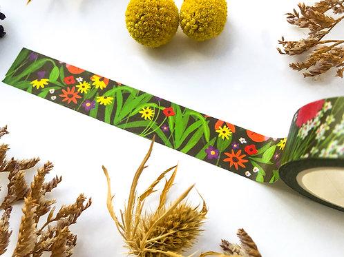 Wildflower Garden Washi Tape