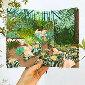 Cactus Garden Sketchbook