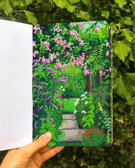 Cottage Garden Pathway