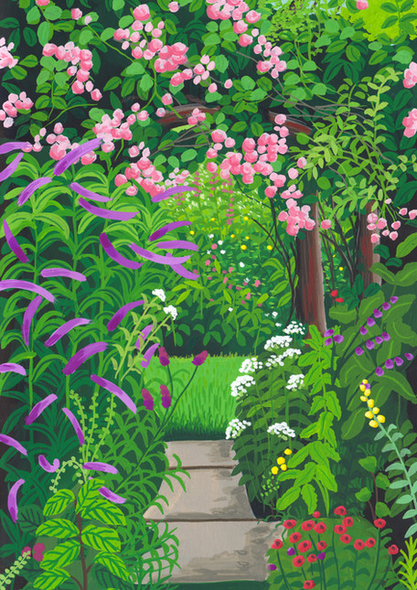 Secret Garden Pathway