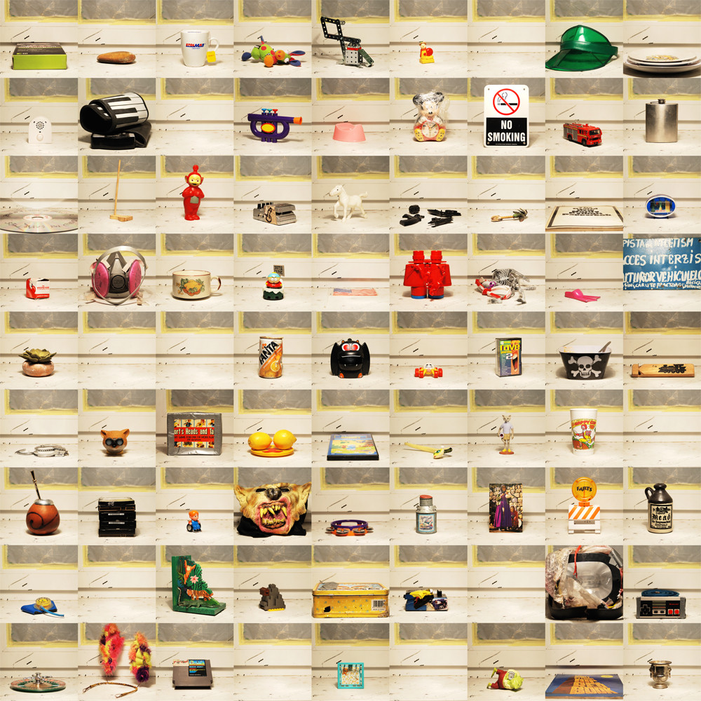 """""""Igenland"""", 2011, brudna prezentacja kolekcji malarza Jakuba Glińskiego"""