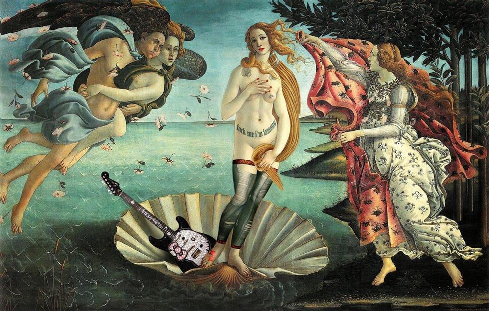 """""""Przestrzeń: Narodziny Venus. Nigdzie"""""""