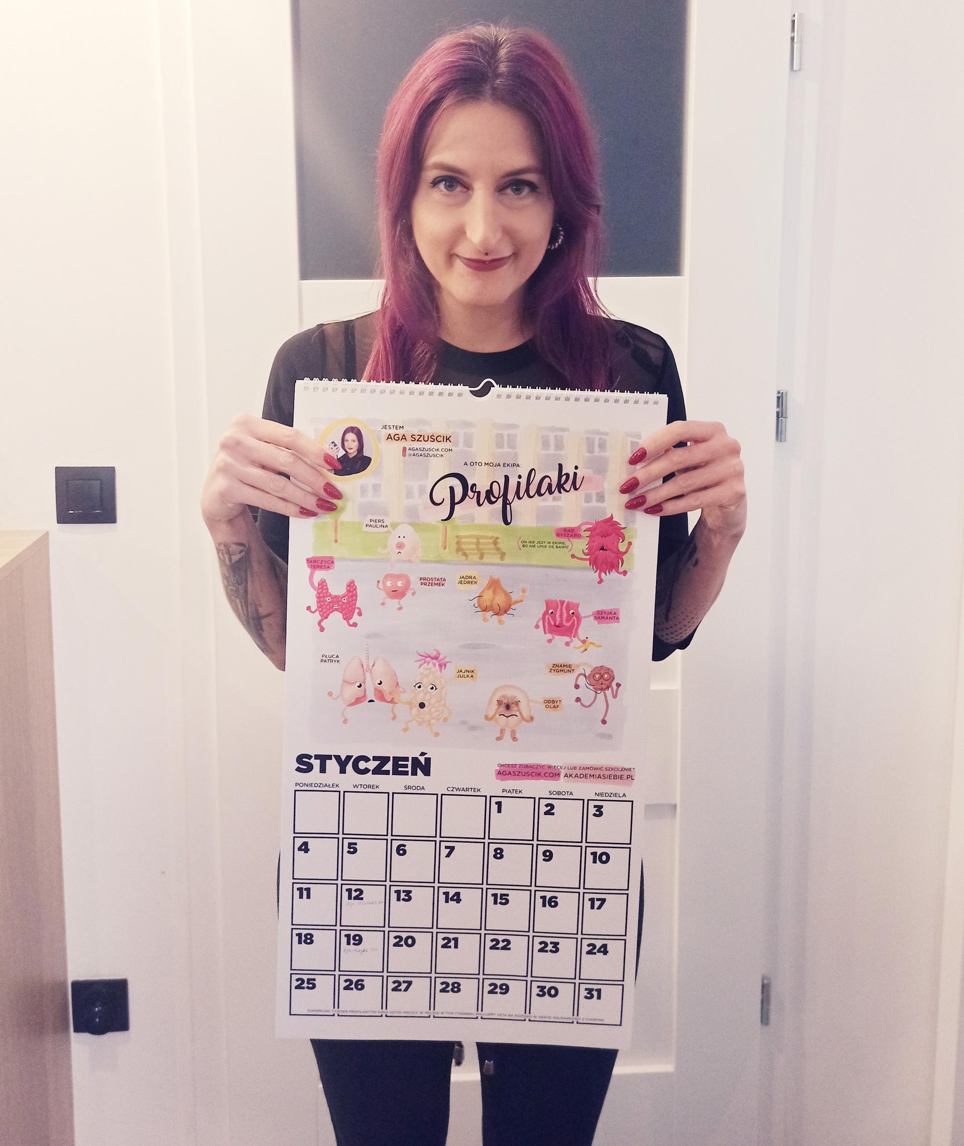 Chcesz zamówić taki kalendarz? Napisz do mnie