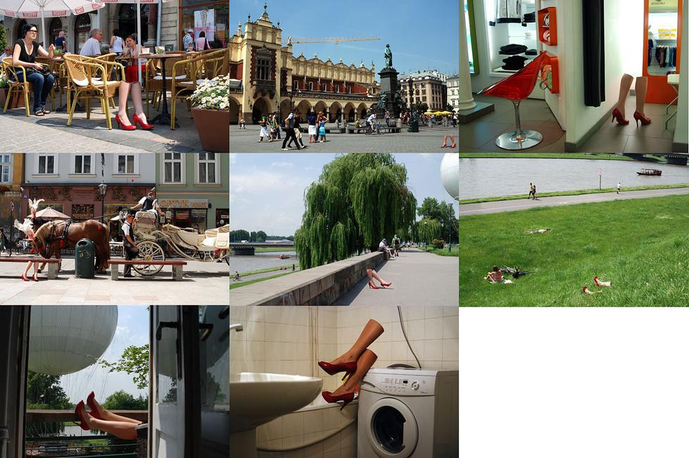 """""""Pour Bourdin"""", 2009, hołd dla francuskiego fotografa mody"""