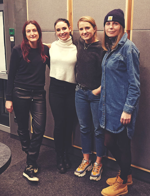 Z Antoniną Dębogórską, Anetą Hudzik i Karoliną Sztyler – OFF Radio Kraków