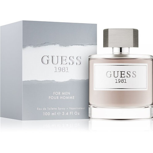 Guess 1981 for Men EDT - 100 ML