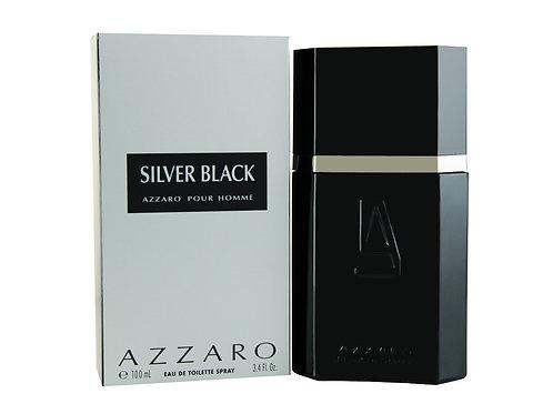 Azzaro Silver Black for Men 100ml Eau De Toilette