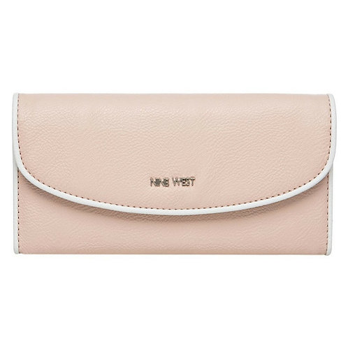 Nine West Tri-Fold Wallet for Women Cameo Rose