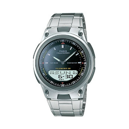 Casio Dual Time Anadigi for Men