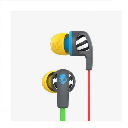 Skullcandy Smokin Bud 2 In-Ear Headset - LocalsOnly Gray/Blue, S2PGHY-478