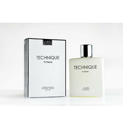 Aris Technique Titan for Men - Eau de Parfum, 100 ML