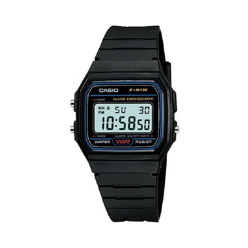 Casio Classic Unisex Digital Dial Resin Band Watch