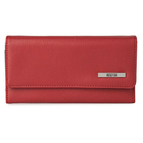 Kenneth Cole Trifold Wallet for Women - Red