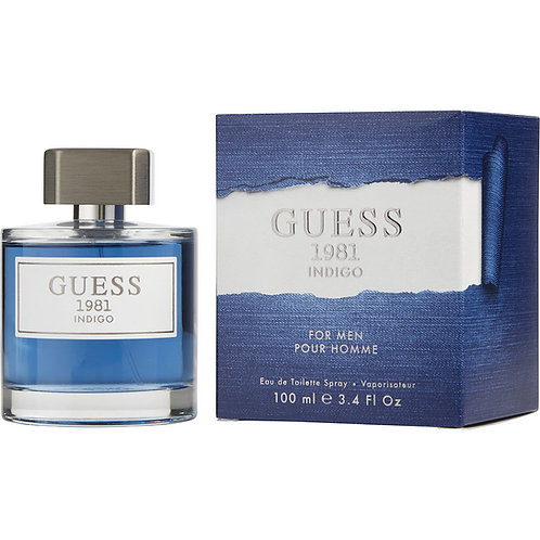 Guess 1981 Indigo for Men - 100ml EDT