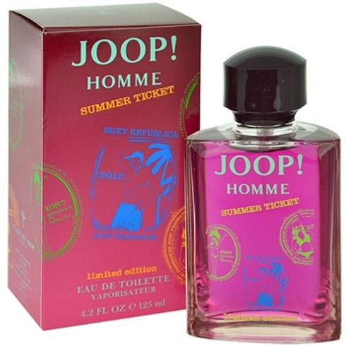 Joop Homme Summer Ticket for Men - Eau De Toilette 125 ml