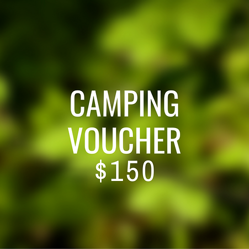 Bluff Creek Voucher $150