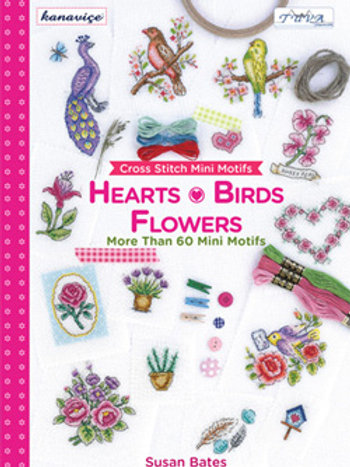 Hearts, Birds & Flowers Cross Stitch (E564758)