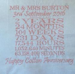 Cotton Wedding anniversary