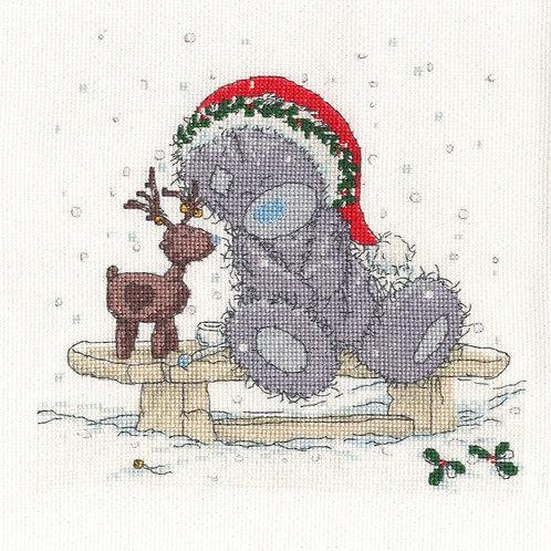 Friends in the Snow Cross Stitch Kit (BL1097/72)