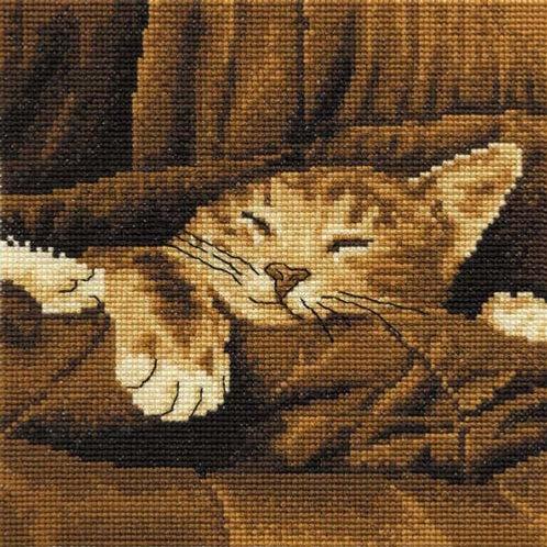 Sleepy Cross Stitch Kit (BK133)