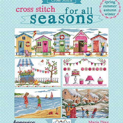 Cross Stitch for all Seasons Book (E5647957)
