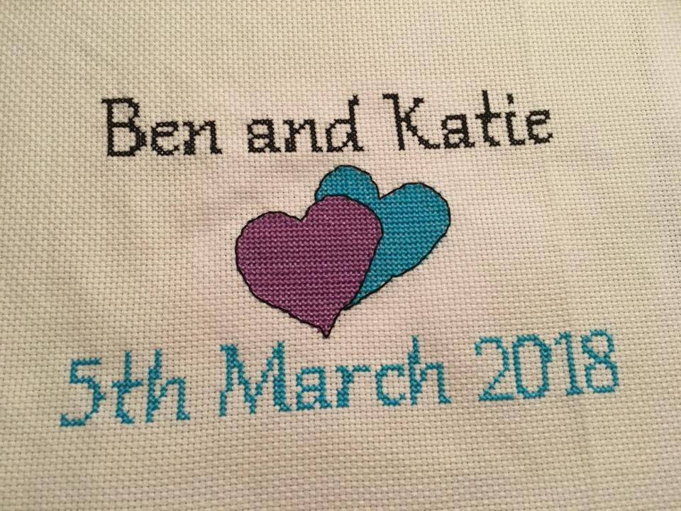 Wedding Anniversary Cross Stitch