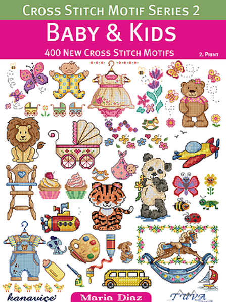 Baby & Kid Cross Stitch Book (14913/22)