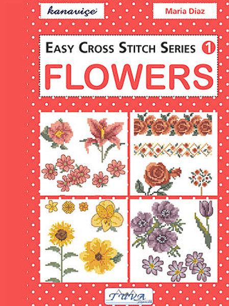 Flowers Cross Stitch Book (E5647490)