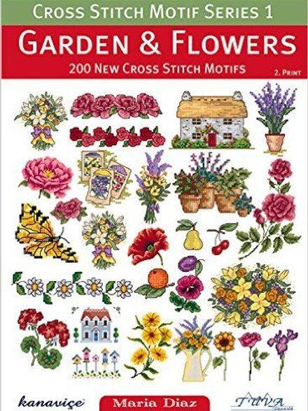 Garden & Flowers Cross Stitch Book (14873/22)