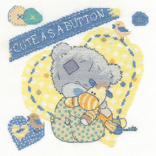 Cute as a Button Cross Stitch Kit (BL1084/72)