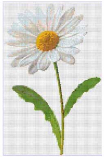 Daisy Cross Stitch Pattern