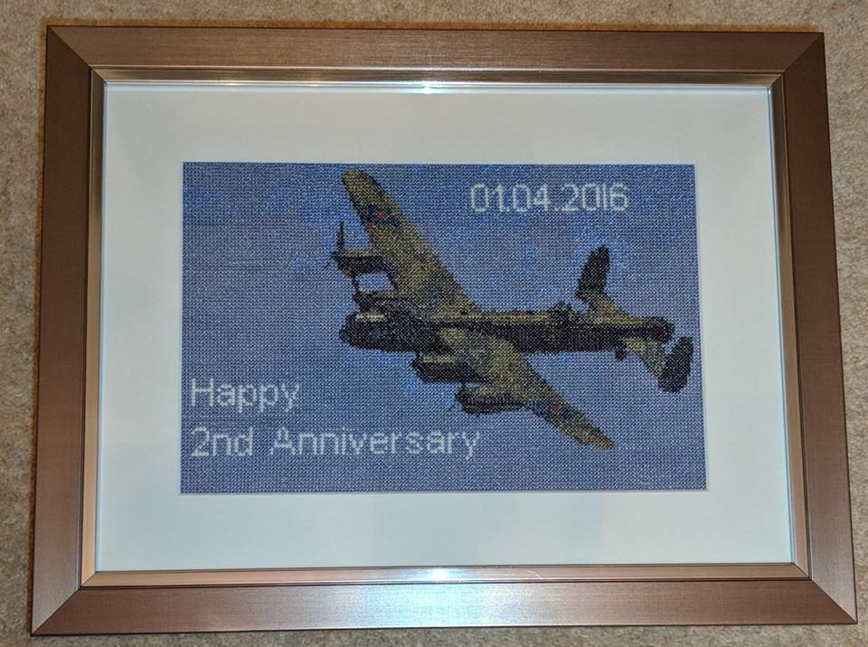 Personalised Family Cross Stitch