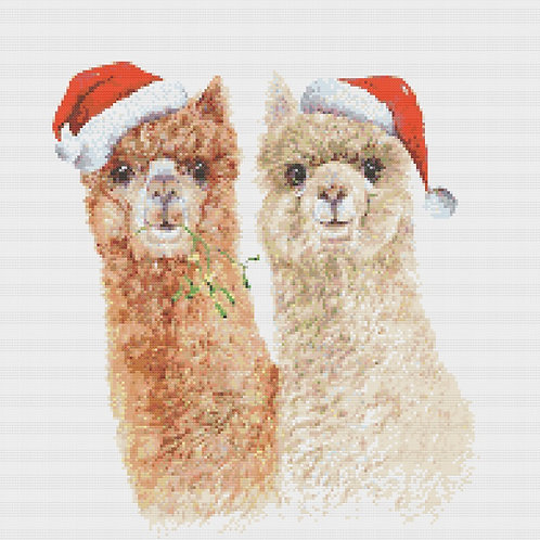Christmas Alpacas (Xmas Edition)