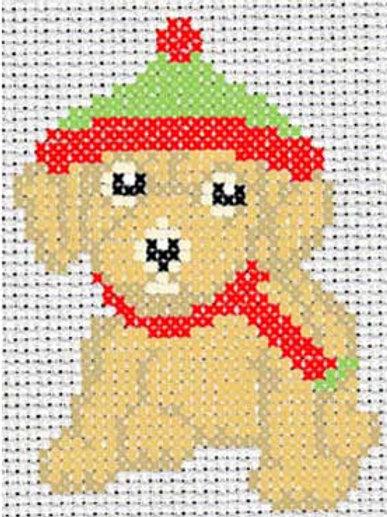 Winter Barnaby Cross Stitch Pattern