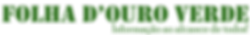 folha d'ouro verde