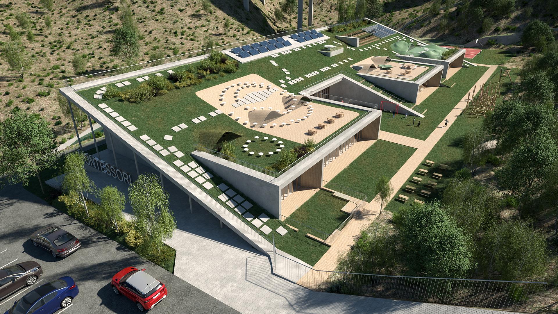 Centro educativo   Málaga