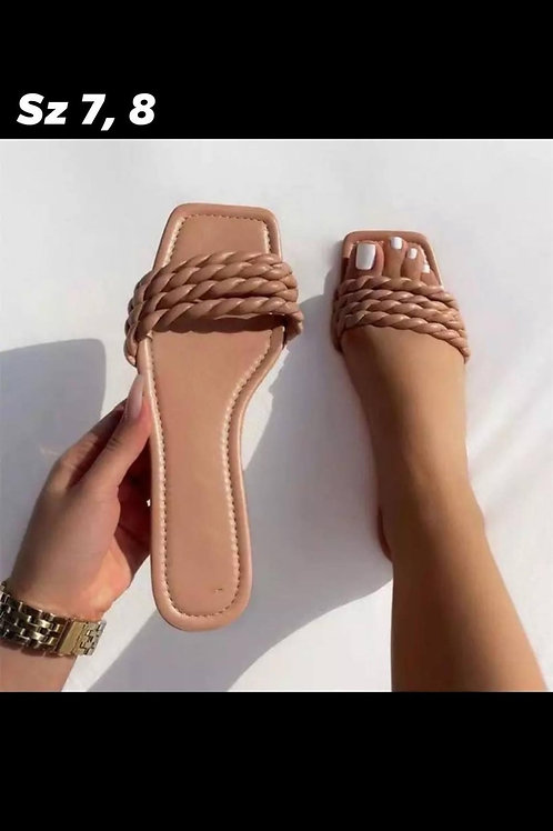 Rope Sandals (Nude)