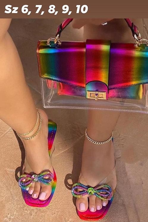 Rainbow Brite Sandals