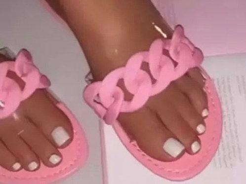 Pink Cuban Link