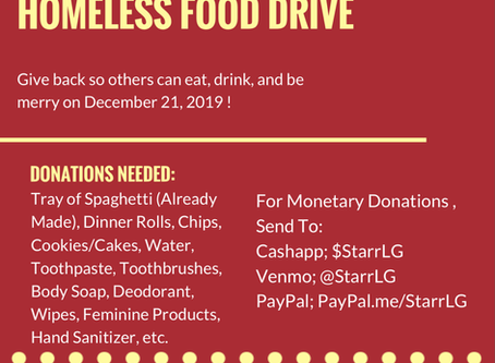FavorFridays Holiday Food Drive 🎄