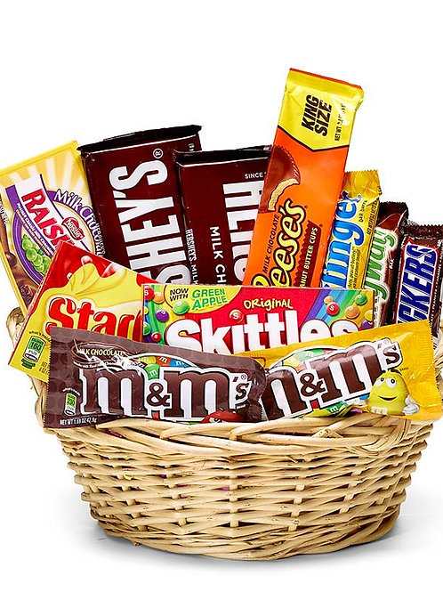 Sweet Tooth Candy Gift Basket