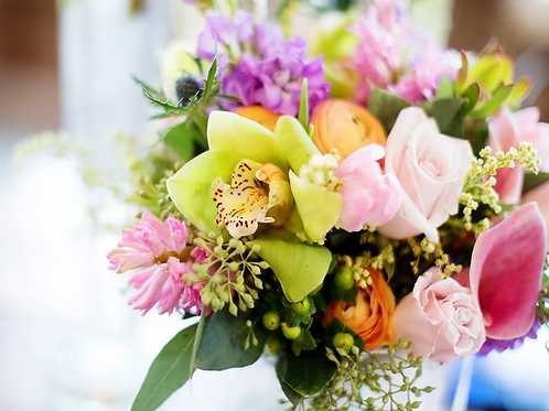 Flower Bouquet of the Day + Balloon Bouquet Combo