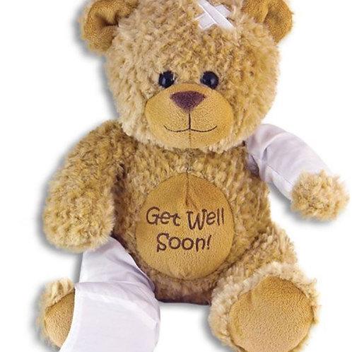 Get Well Soon Signature Bear