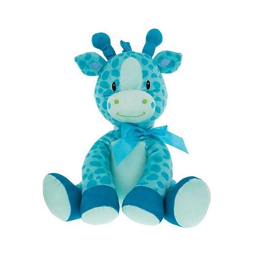 Large Plush Giraffe - Blue